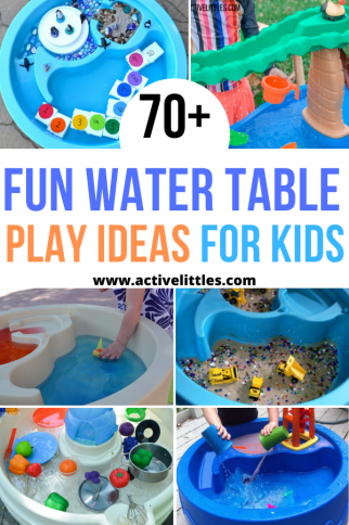 70 + Fun Water Table Play Ideas for Kids + Best Water Tables