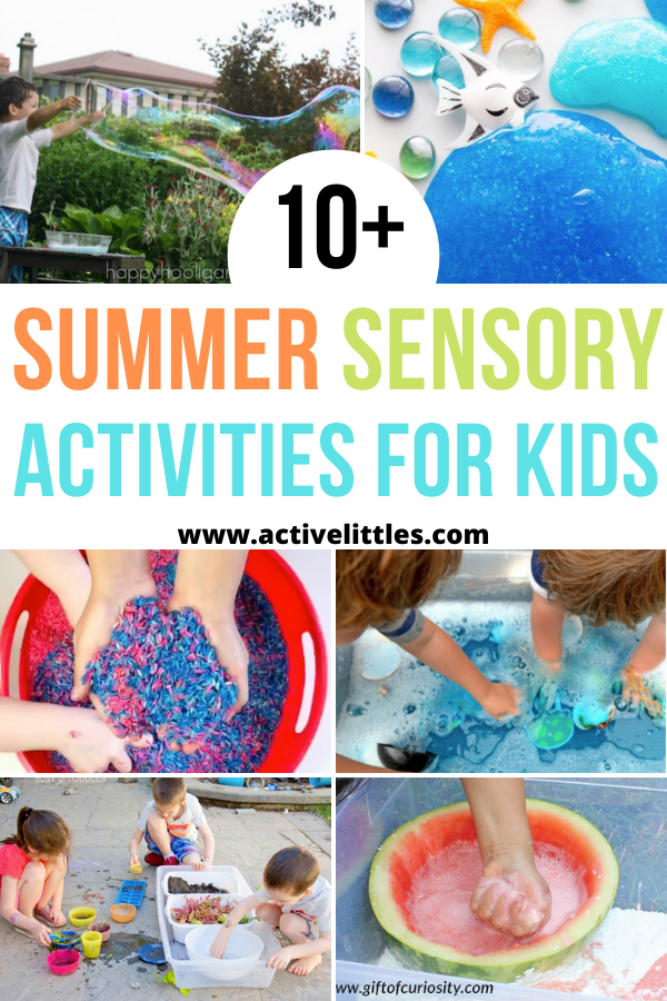 summer sensory activities for kids