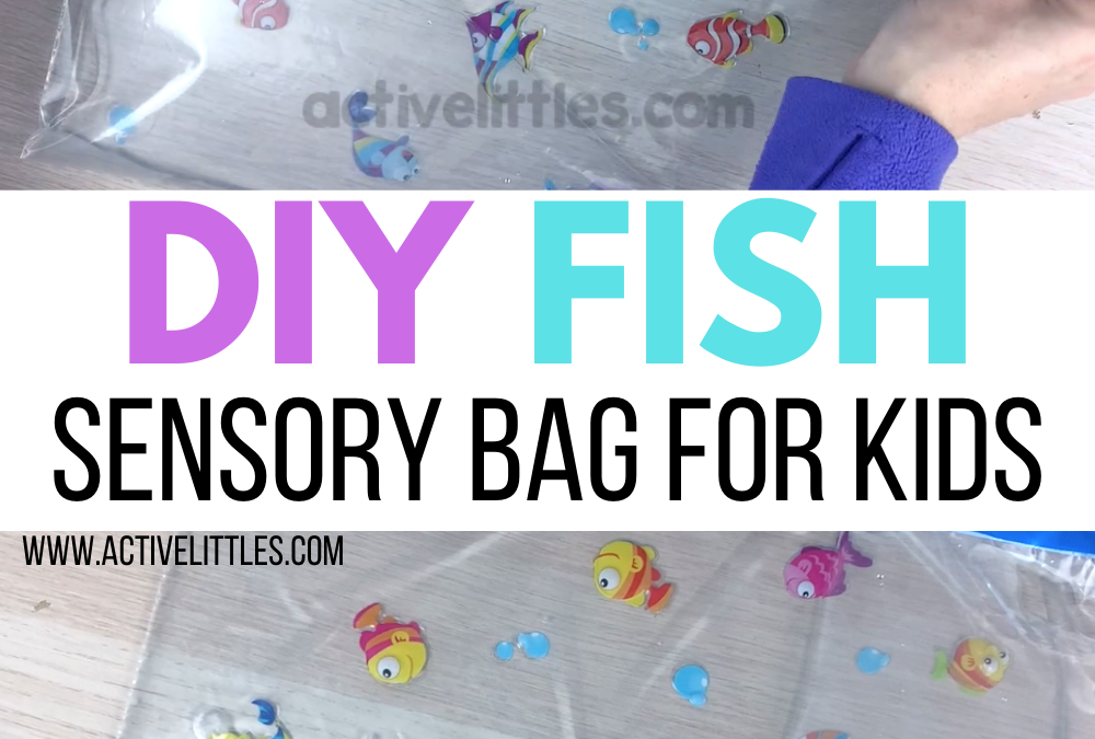 DIY Fish Sensory Bags for Babies, Toddlers, Preschool and for Kids