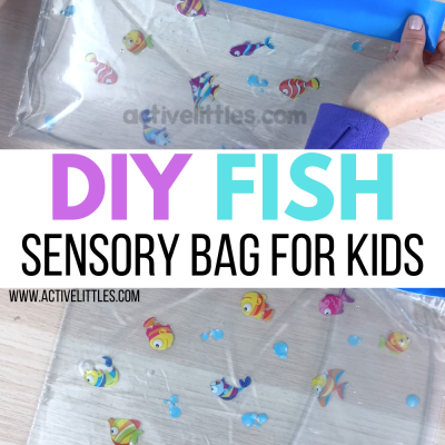 diy fish sensory bag