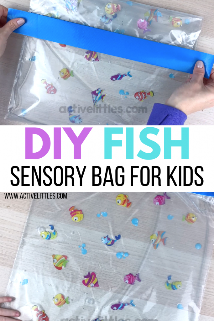 diy fish sensory bag