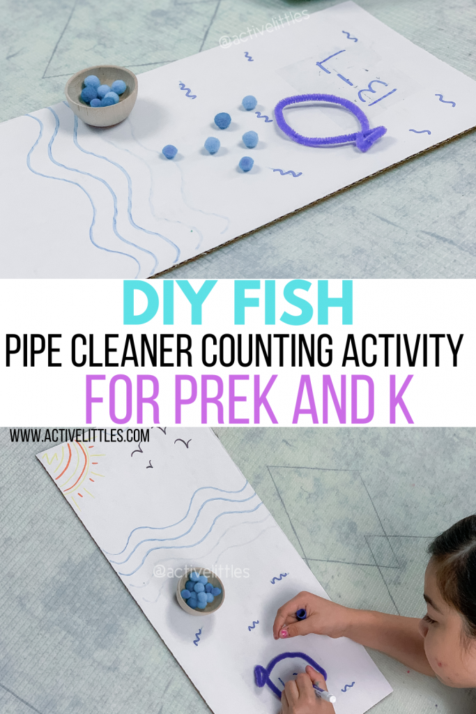 diy pipe cleaner activity for preschool