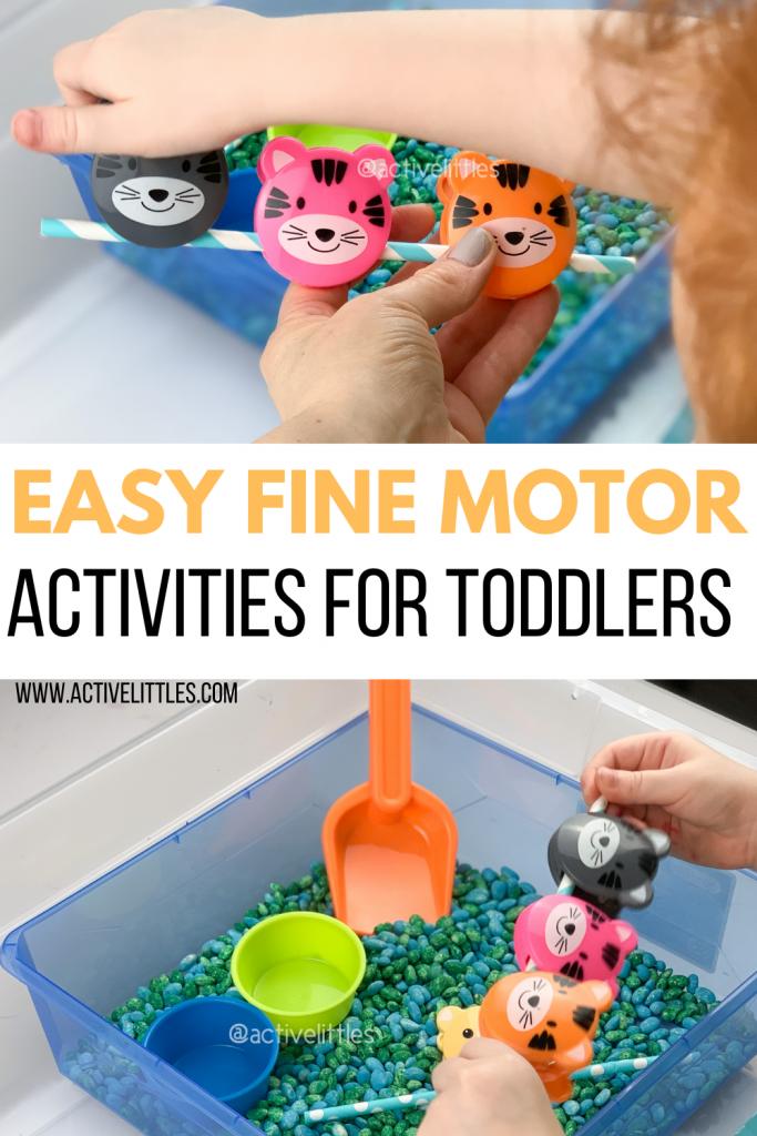 easy fine motor activities for kids