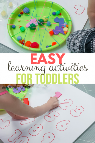 Easy Learning Activities for Toddlers at Home