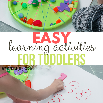 easy learning activities for toddlers and for kids