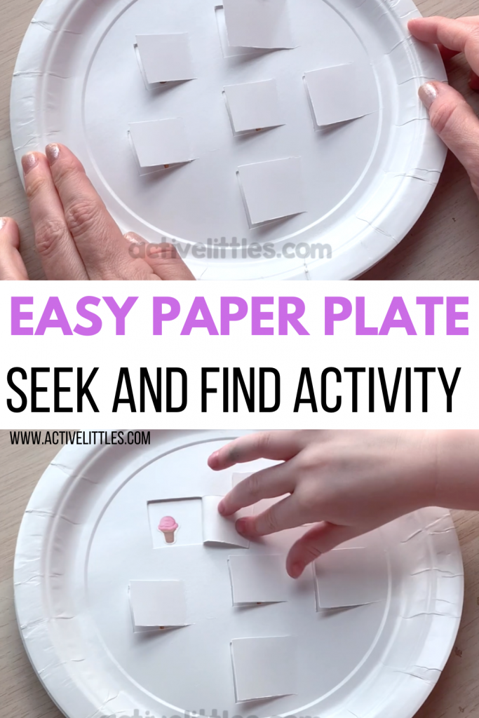 easy paper plate activity