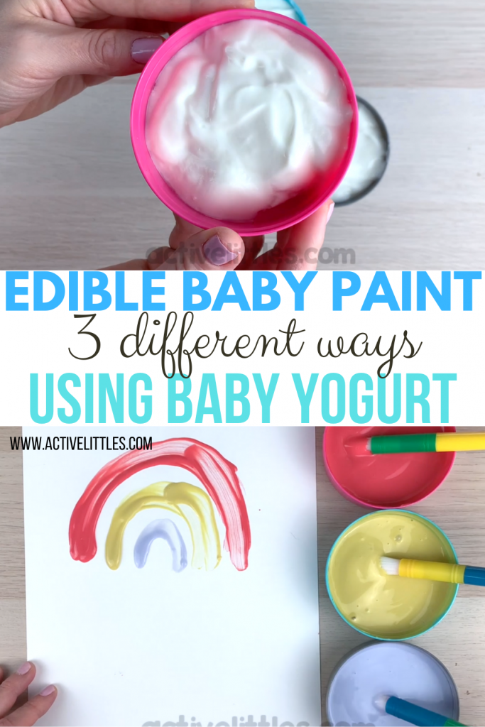 edible paint for babies