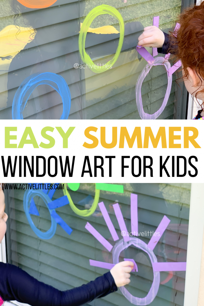 foam window art for kids