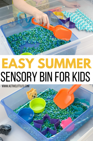 Easy Summer Sensory Bins for Toddlers and Preschoolers
