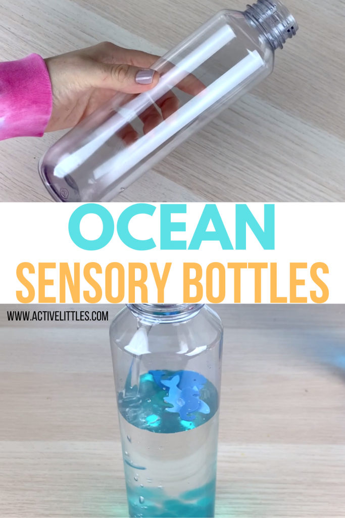 ocean sensory bottles for kids