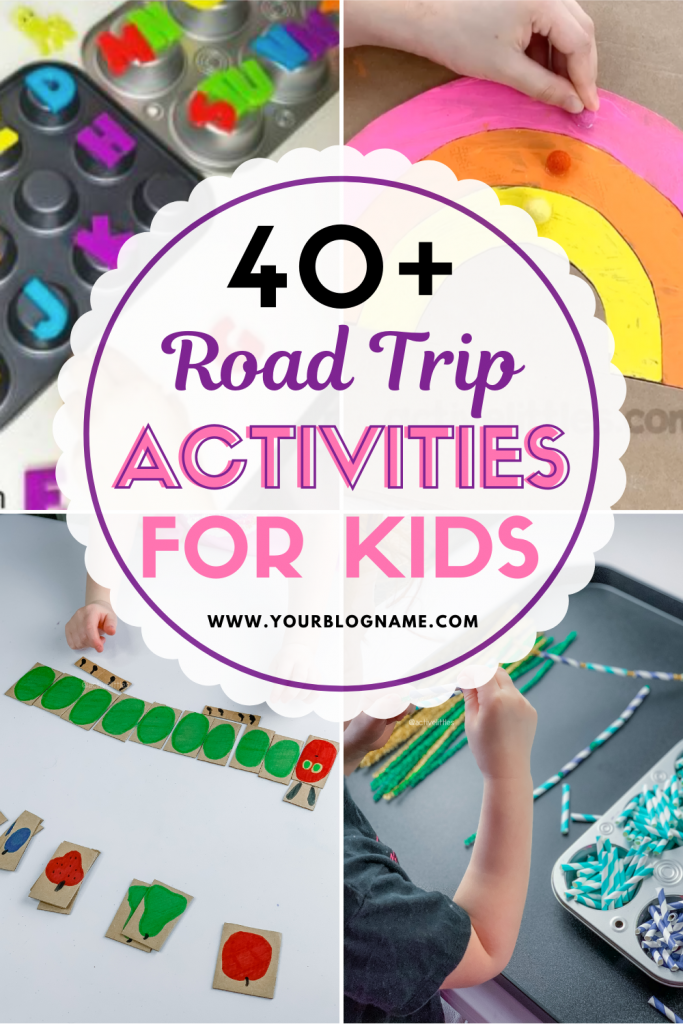 on the road activities for toddlers and for kids