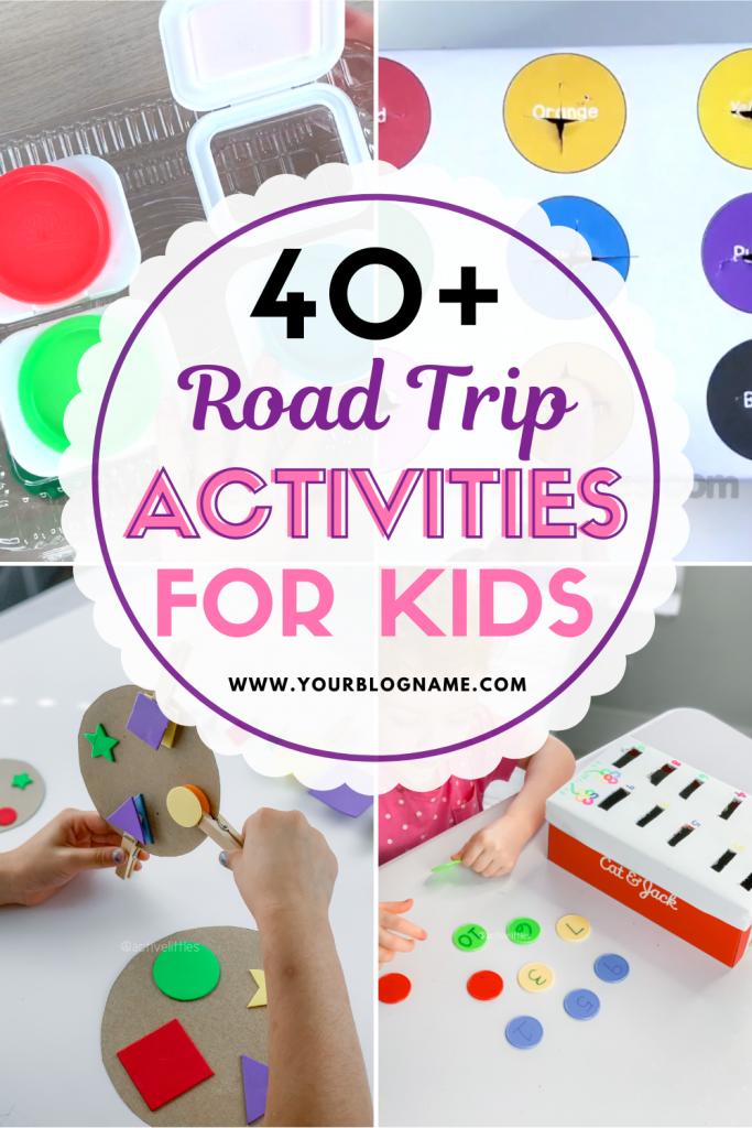 on the road kids activities
