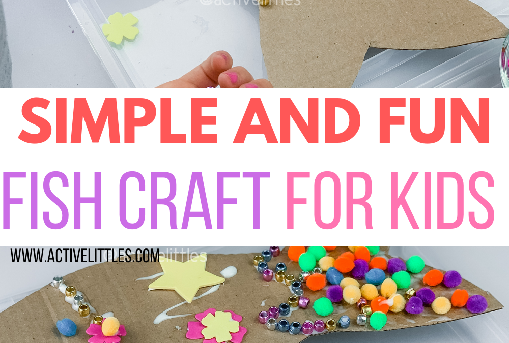 Simple and Fun Fish Craft for Kids