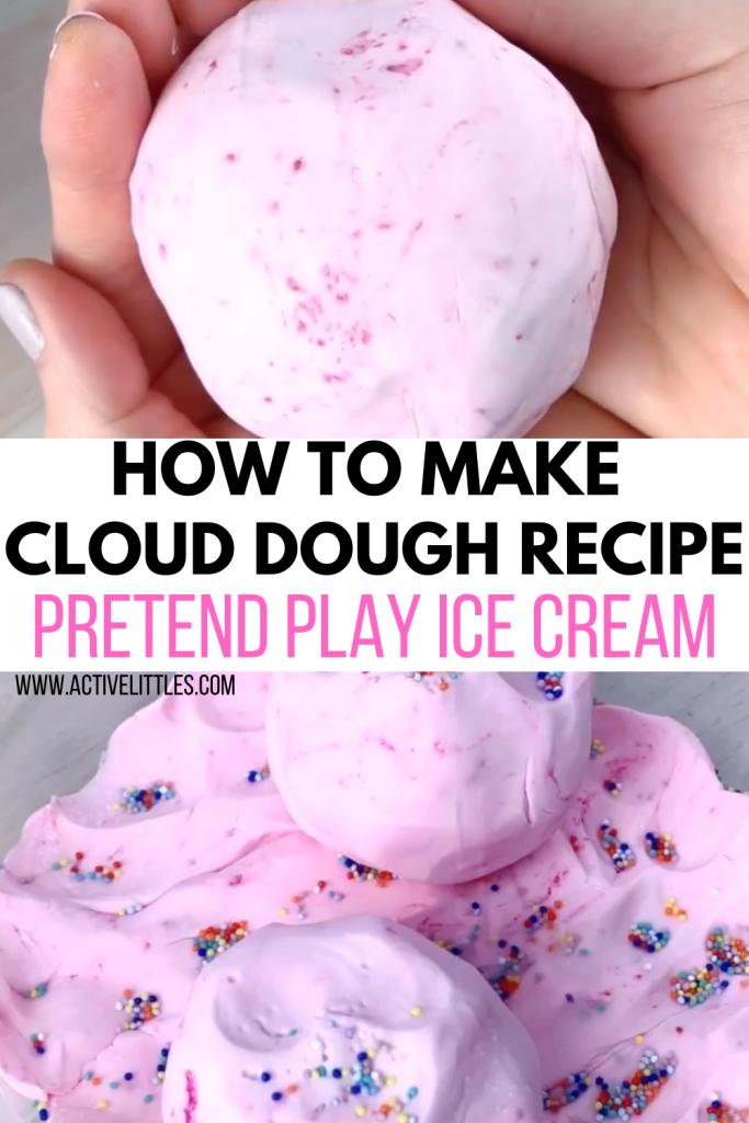 cloud dough for kids