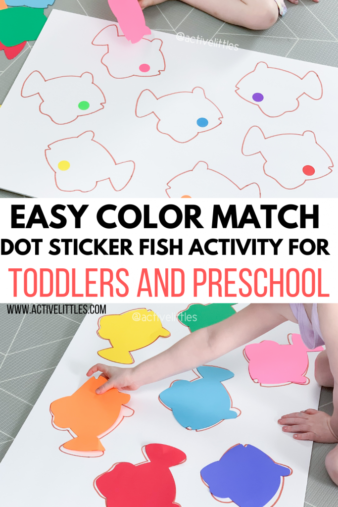 easy recycled color match activity