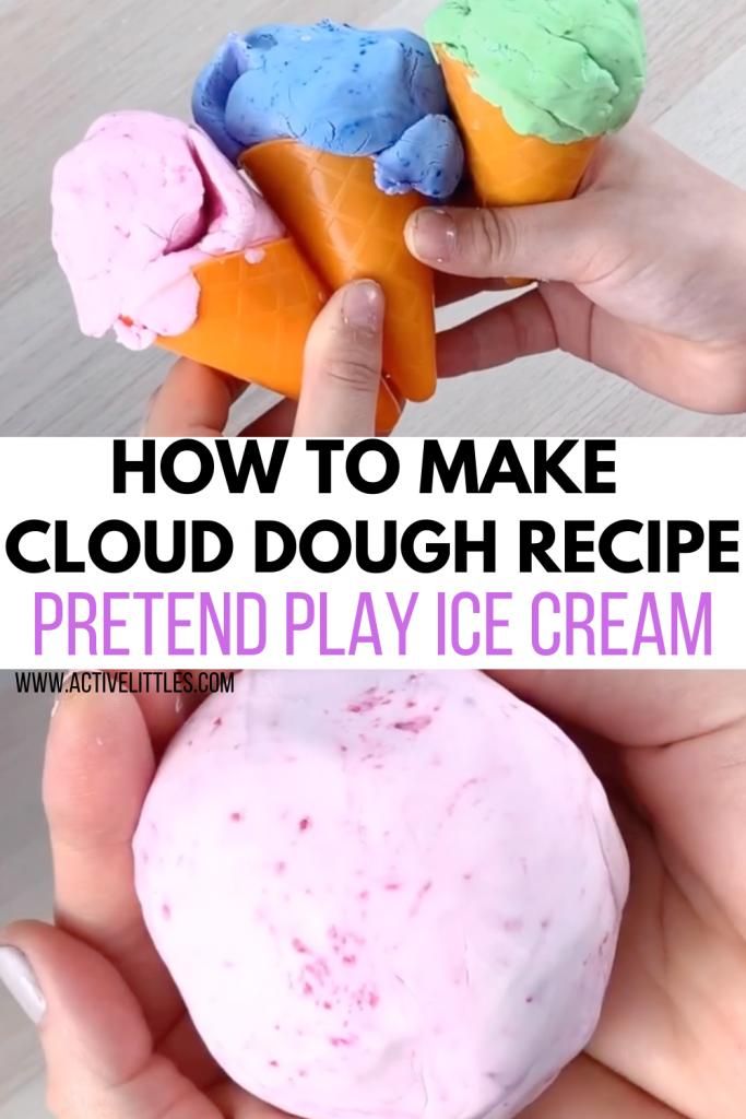 how to make cloud dough recipe for kids