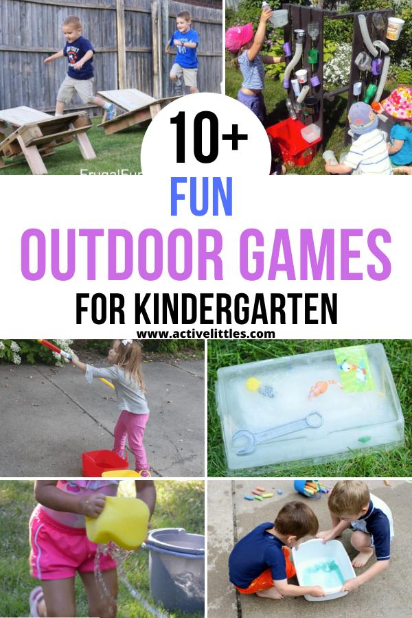 outdoor games for kindergarten