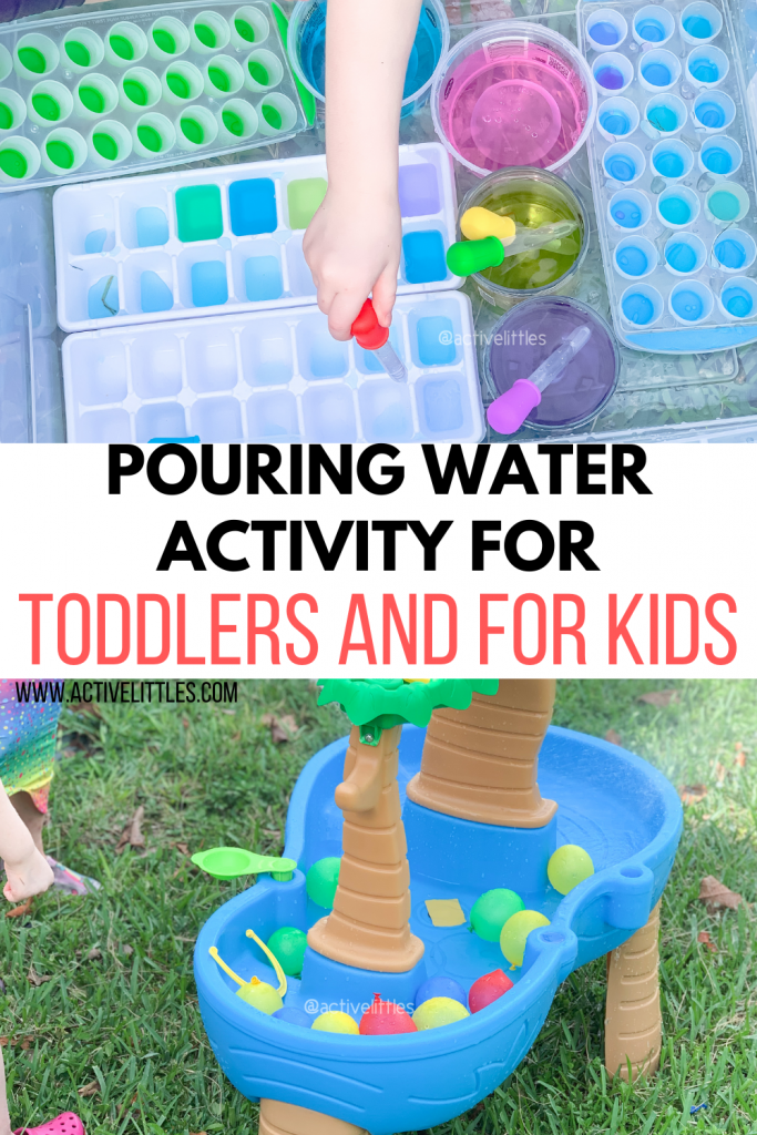 pouring water activities for toddlers and for kids