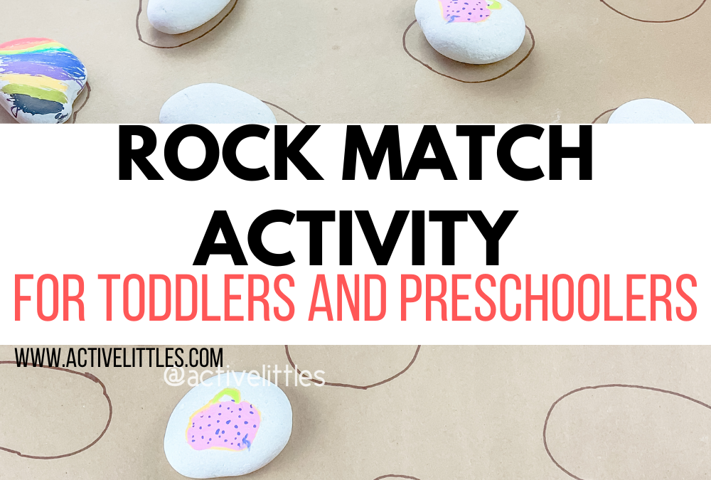 Rock Matching Activity for Toddlers and Preschoolers