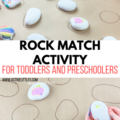 rock match activity for toddlers and preschoolers