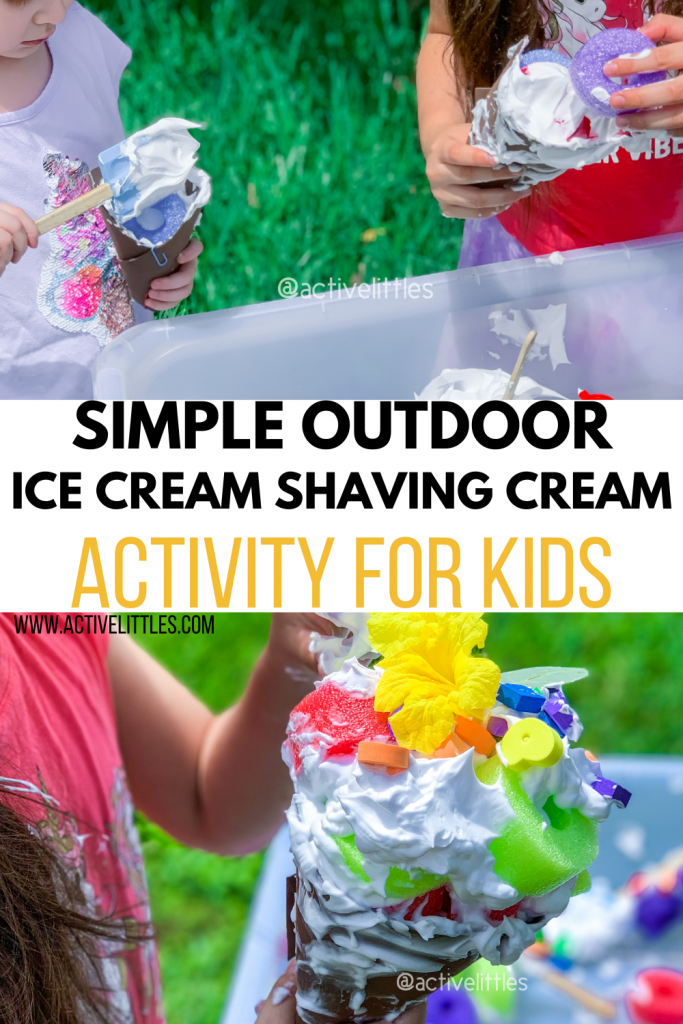 shaving cream activity for toddlers and for kids