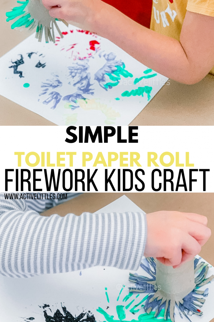simple firework craft for kids