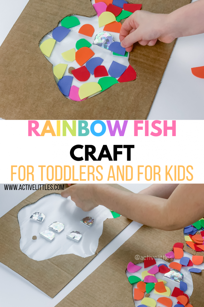 the rainbow fish activity for kids