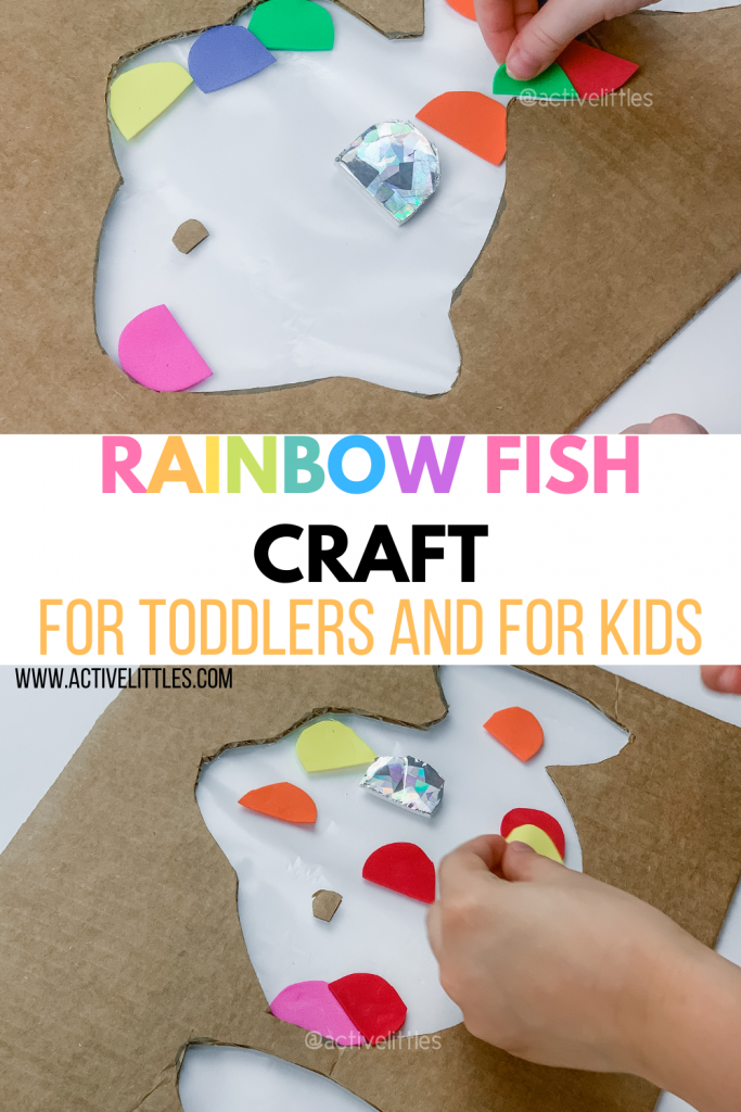 the rainbow fish craft and activity for kids