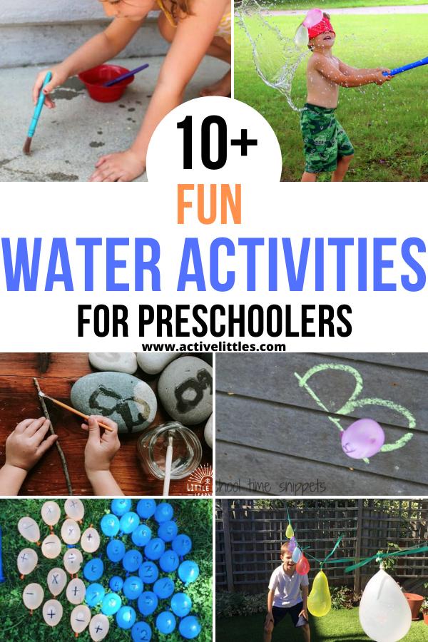 water activities for preschool