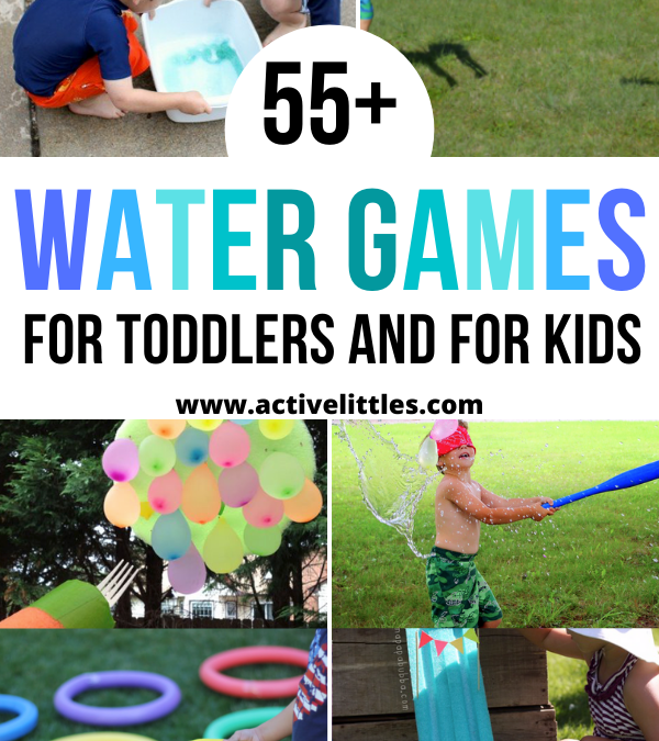 55+ Best Backyard Water Games for Toddlers and For Kids