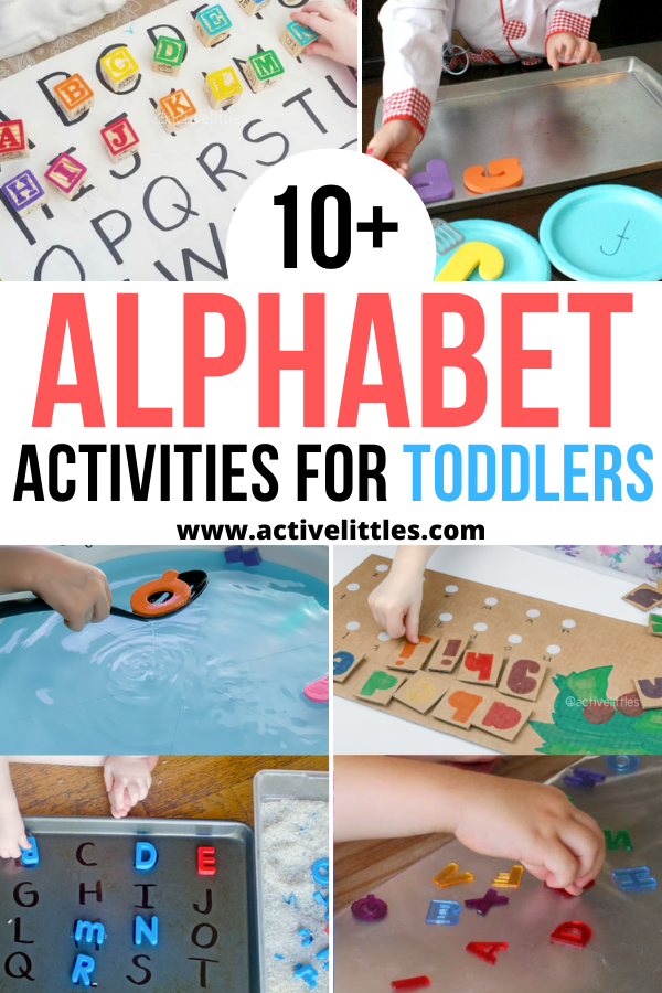 alphabet activieis for toddlers