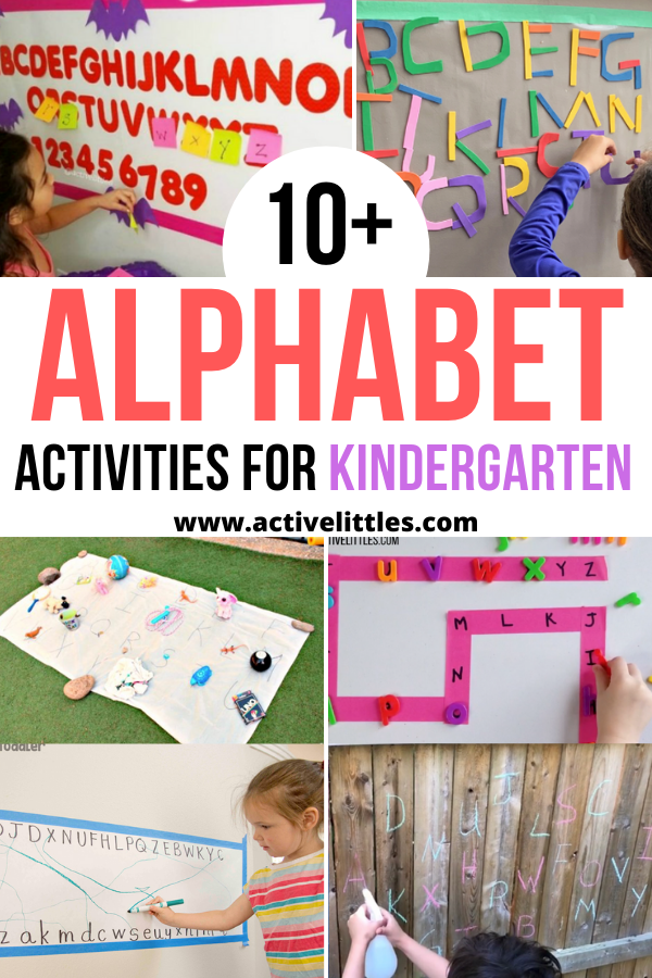 alphabet activities for kindergarten