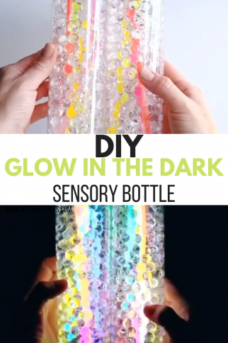 Glow in the Dark Sensory Bottle