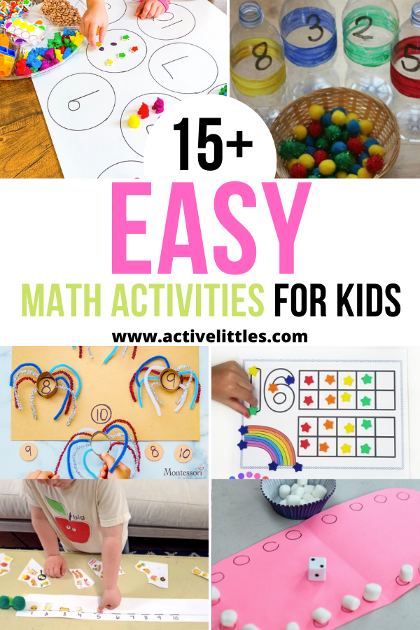 easy math activities for kids