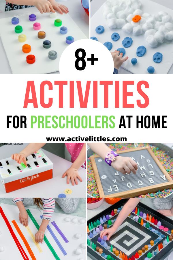 activities for preschoolers at home