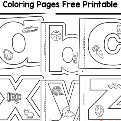 alphabet coloring books free printable