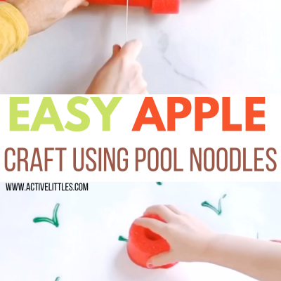 apple pool noodle crafts