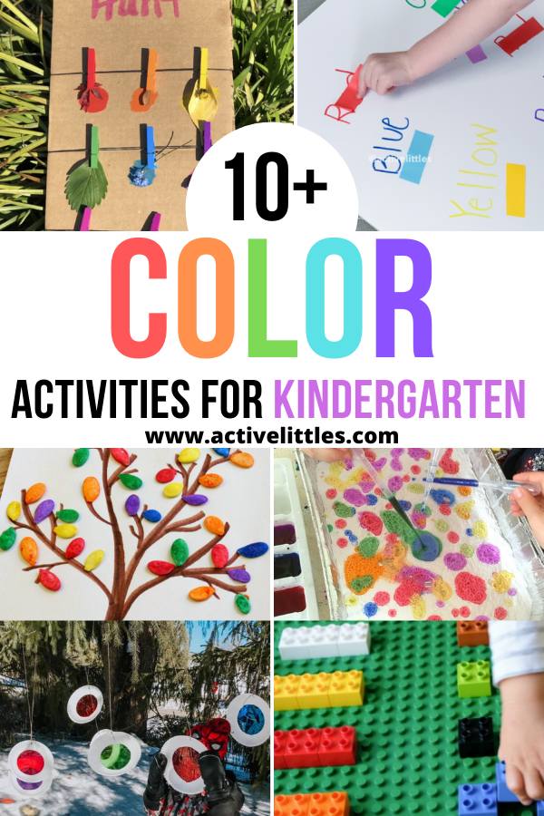 color activities for kindergarten