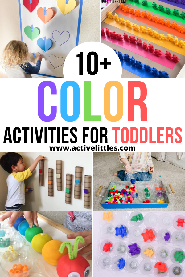 color activities for toddlers