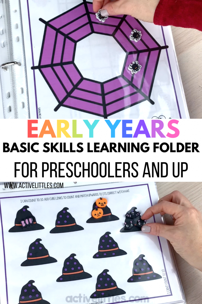 early learning folder