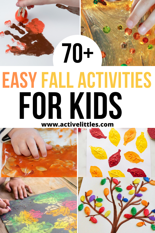 easy fall activities for kids
