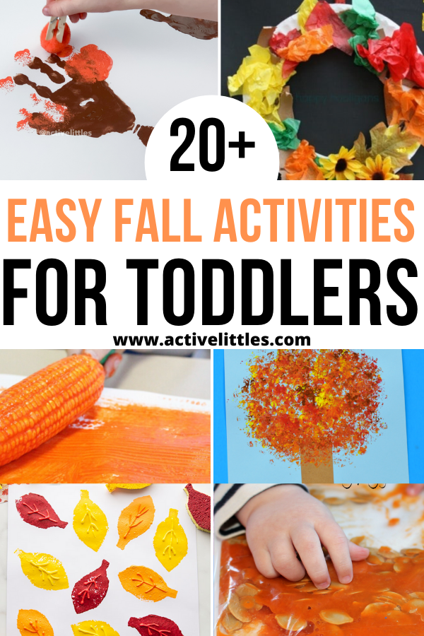 easy fall activities for toddlers