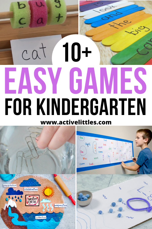 easy games for kindergarten