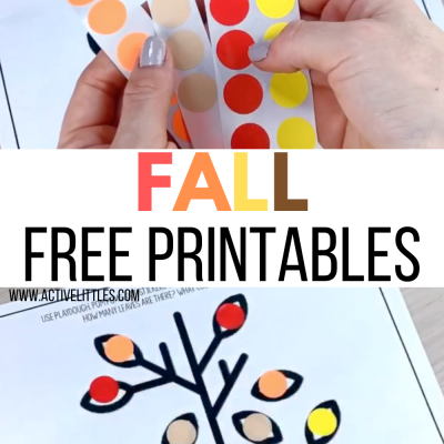 fall free printables for kids