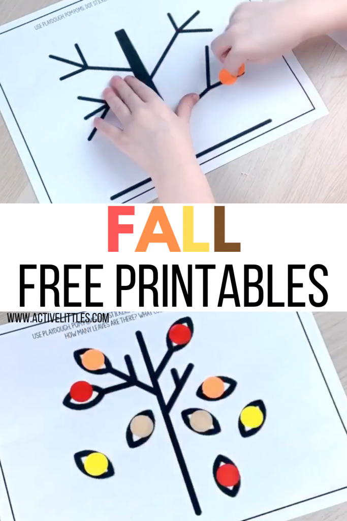 fall printables free for kids