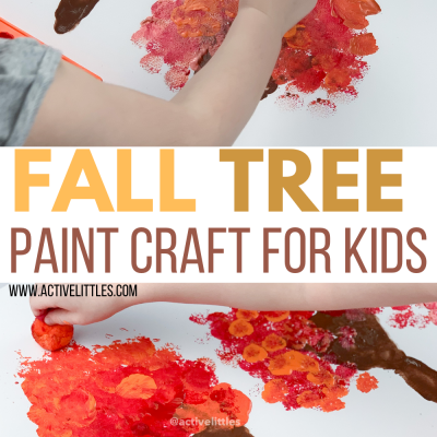 fall tree paint craft