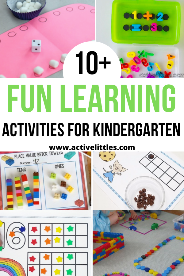 fun learning activities for kindergarten