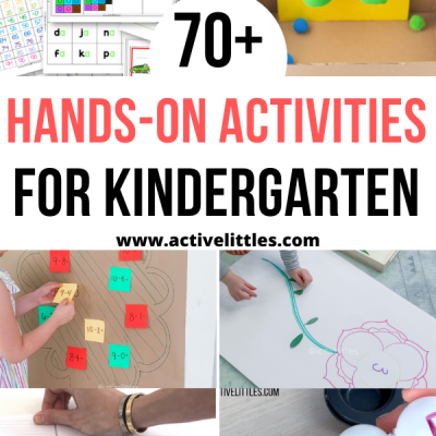 hands on activities for kindergarten