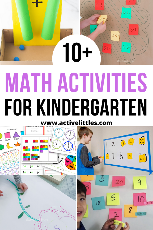 math activities for kindergarteners