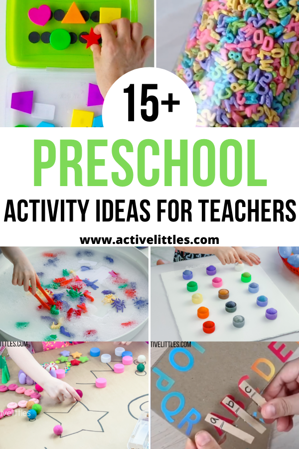 preschool activity teachers ideas